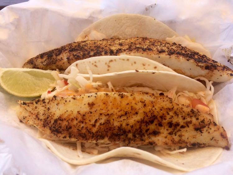 Amazing Fish Tacos in US