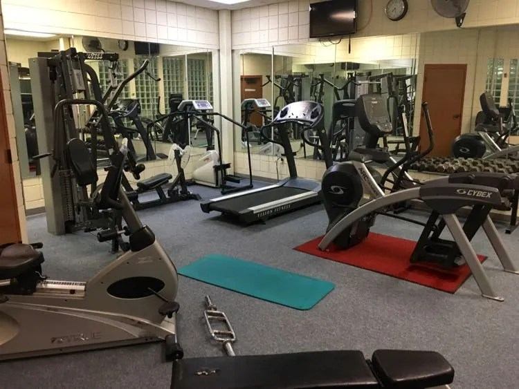 fitness center at Canaan Valley ski resort