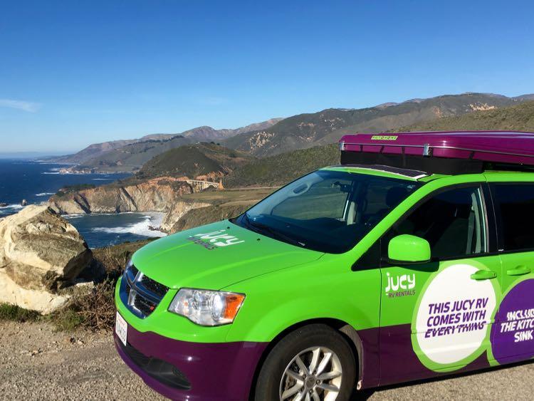 JUCY Campervan: Big Sur California Road Trip • McCool Travel