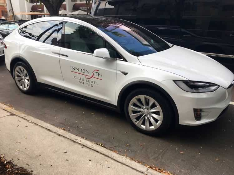 Inn on 5th Naples Tesla shuttle