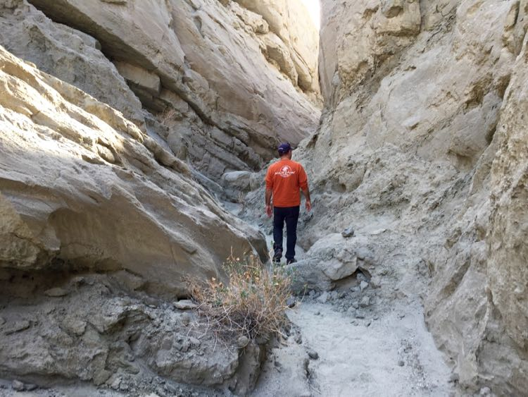 Slot Canyon Palm Springs California
