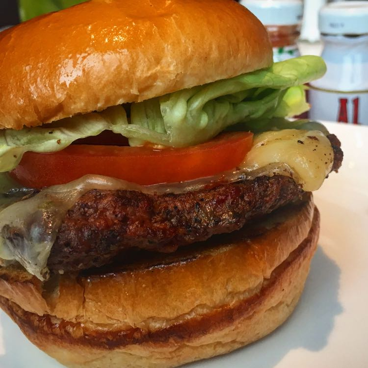 Great burgers for National Burger Month. Only Burger in Durham, NC