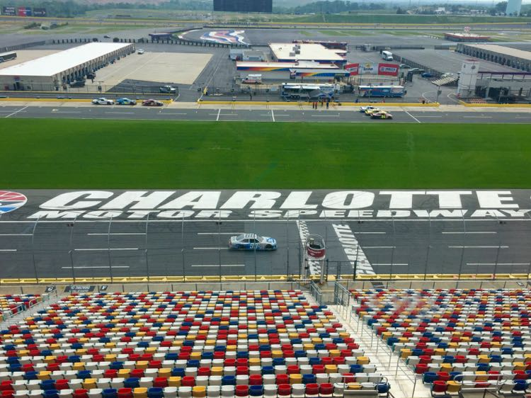 Charlotte Motor Speedway Cabarrus County getaway to North Carolina