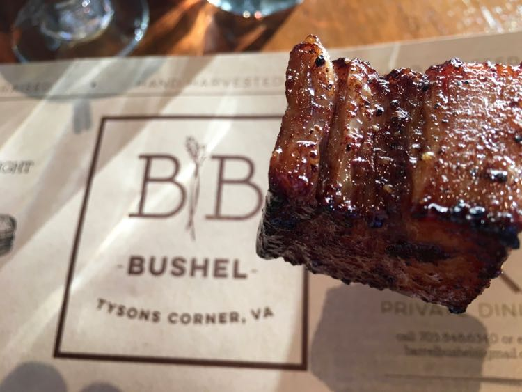 Relaxed Luxury at Hyatt Tysons Corner Barrel & Bushel. Article and photo by Charles McCool for McCool Travel.