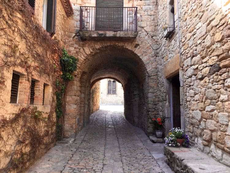 places to visit in Costa Brava Spain: medieval Peratallada. Article and photo by Charles McCool for McCool Travel
