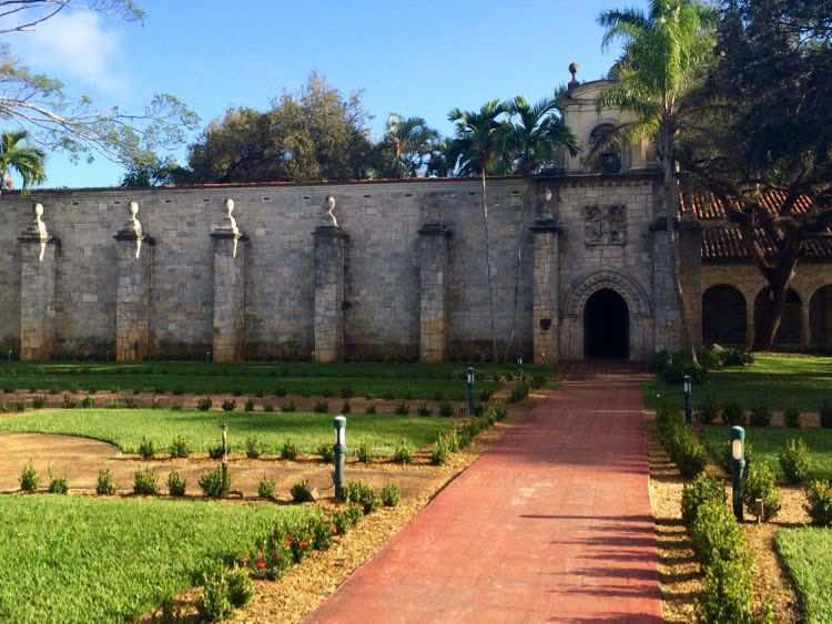 Ancient Spanish Monastery gardens
