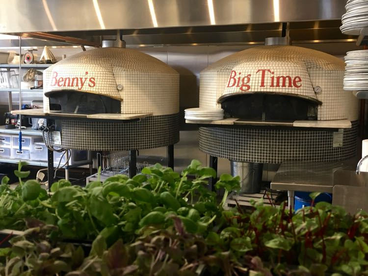 Benny's Big Time Pizzeria is a fun Wilmington NC place to eat