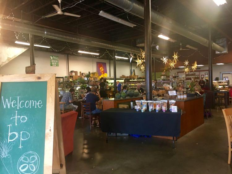 Bushel and Peck's Local Market in downtown Beloit Wisconsin