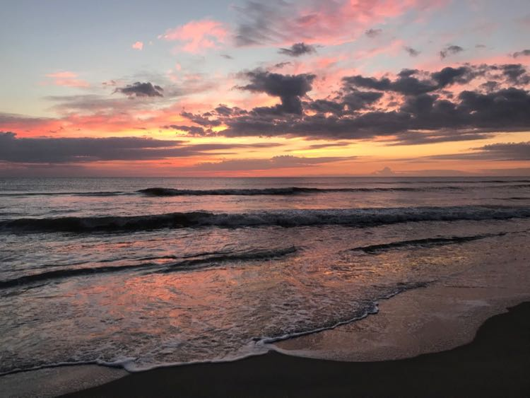 Outer Banks sunrise in Duck NC
