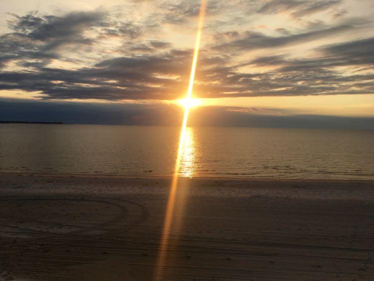 #SecretCoast sunrise from Bay St Louis beach