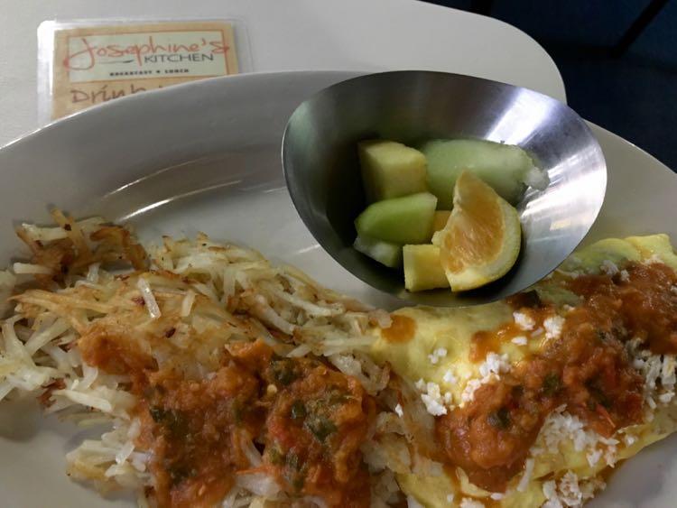 Juan More omelette at Josephine's SPI