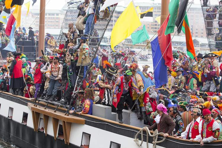 Gasparilla Invasion, Tampa Bay