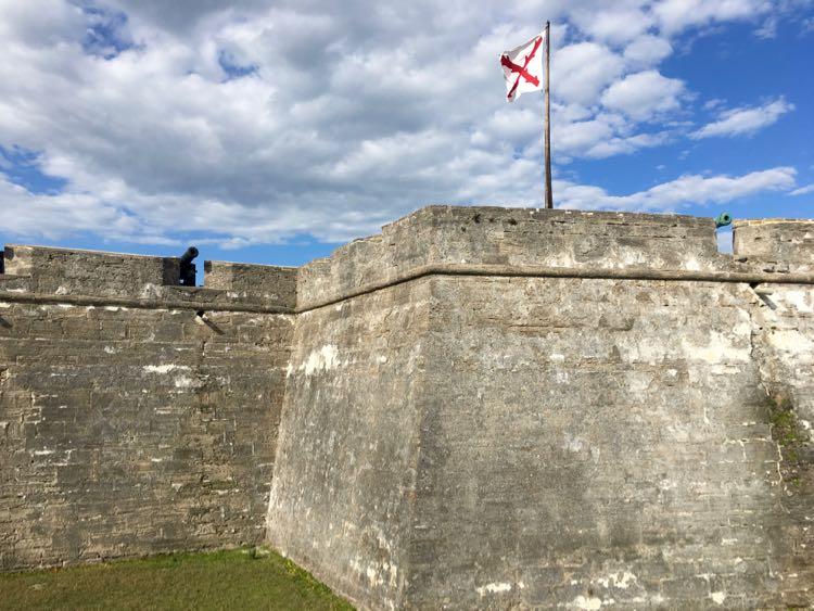 Castillo de San Marcos St Augustine fort