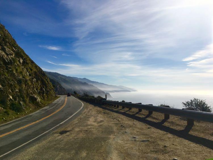 phenomenal beauty of California coastline on Big Sur scenic drive