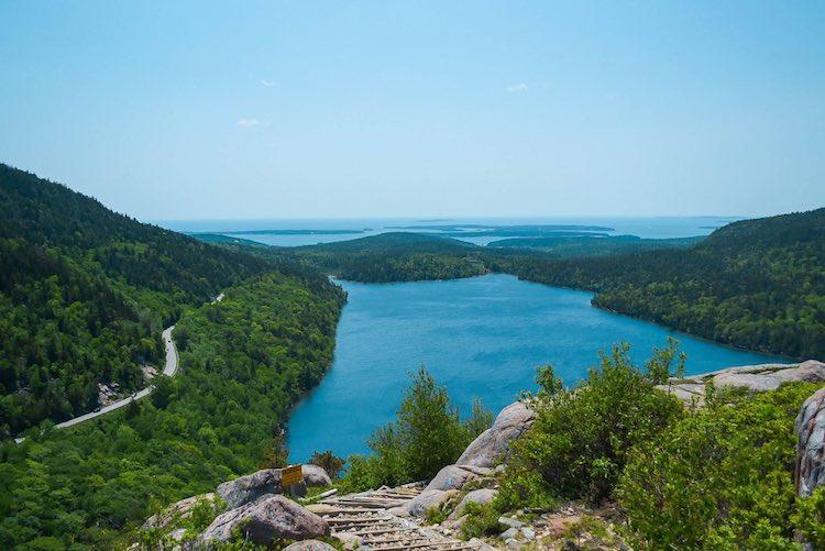 Maine coastal scenic drive
