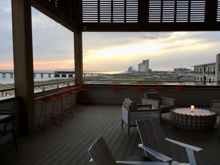 enjoy Gulf Coast sunsets at Gulf State Park