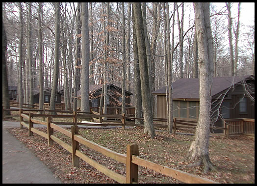 Cabins Photo  McCormicks Creek State Park Indiana