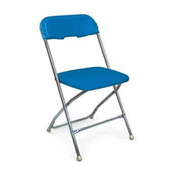 blue metal folding chairs gaming amazon series 5 chair