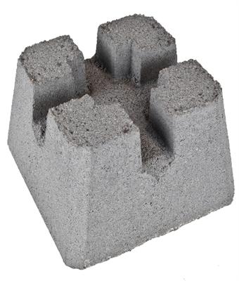 concrete patio pier block 12 x8 x12