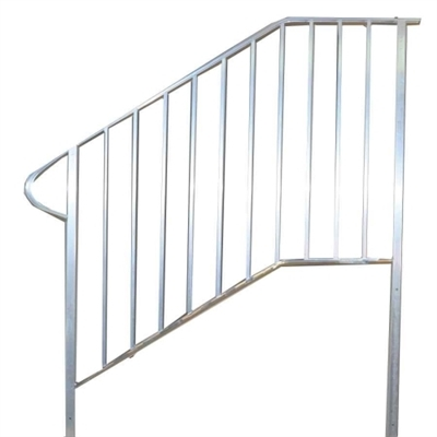 Shop 57 Aluminum Handrail 4 Step With Stoop Or 5 Step At Mccoy S   Aluminum Steps With Handrail   Boat Dock   Wheelchair Ramp   Stair Treads   Folding   Stair System