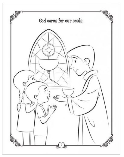 The Bread of Life Colouring & Activity Book
