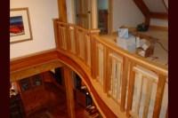Curved Balconies, Stair Railings