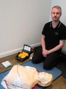 First Aid Defibrillator