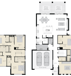 floor plan avondale two storey home mcdonald jones [ 1498 x 1145 Pixel ]