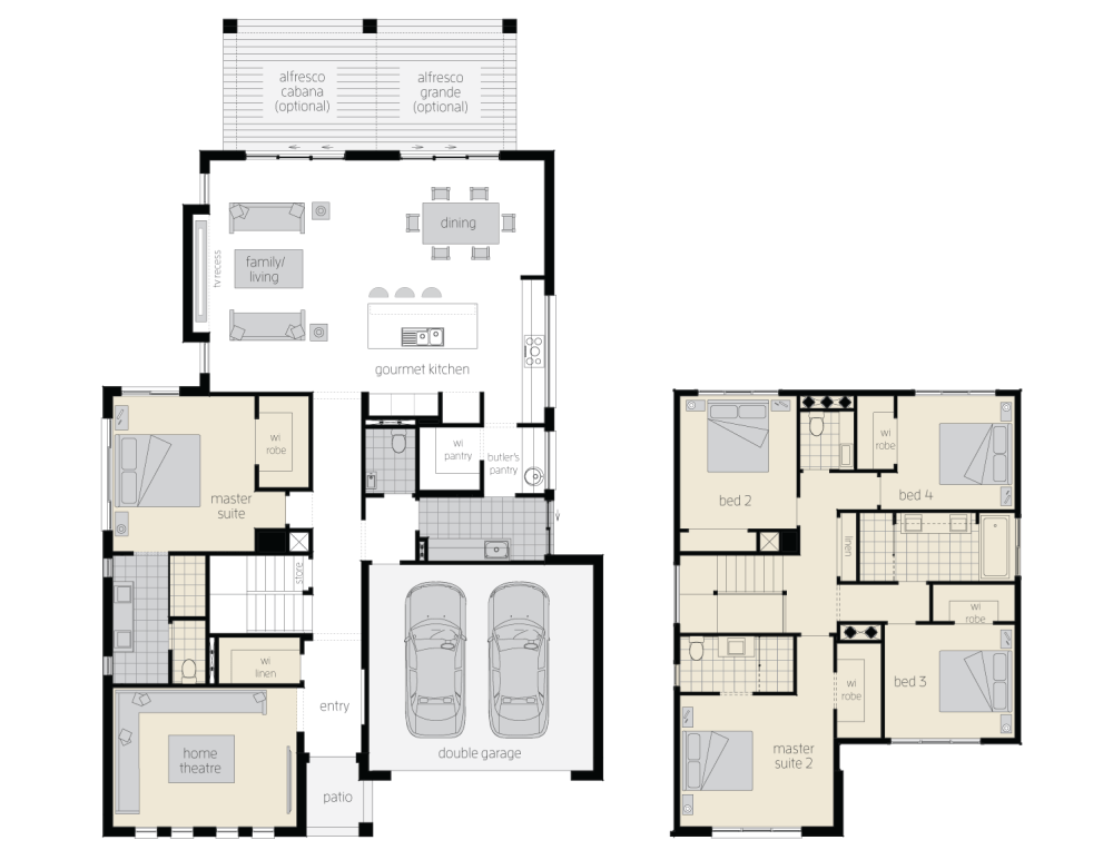 medium resolution of floor plan avondale two storey home mcdonald jones