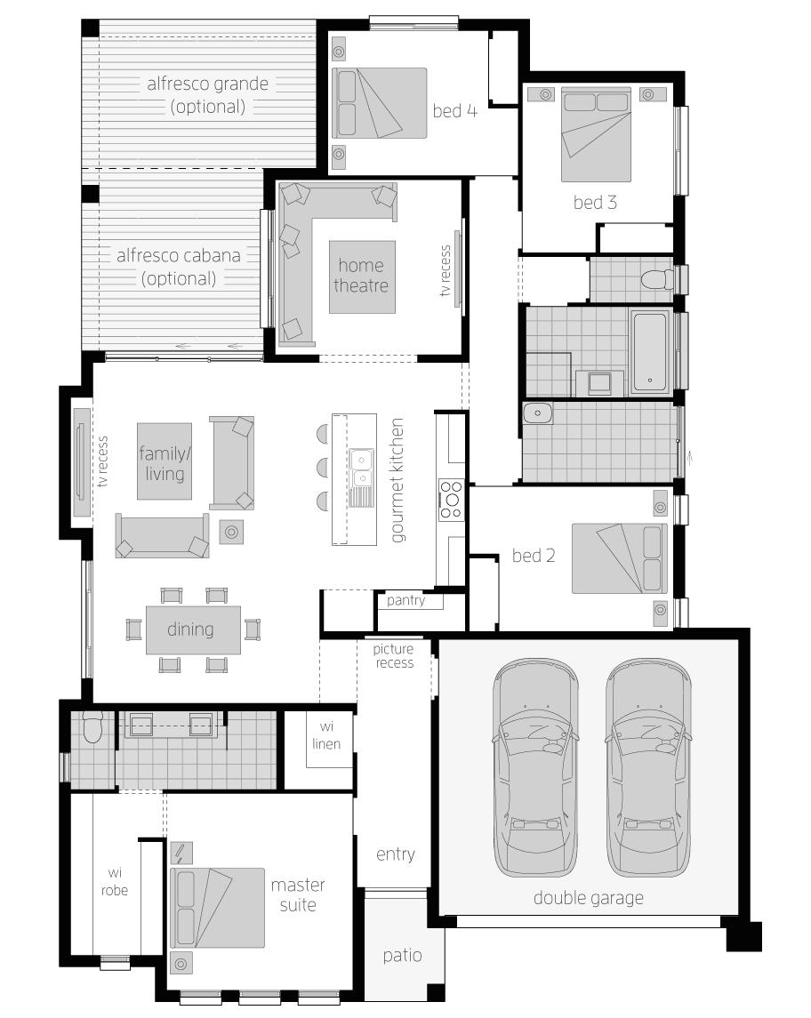 Stoneleigh New Home Design McDonald Jones Homes