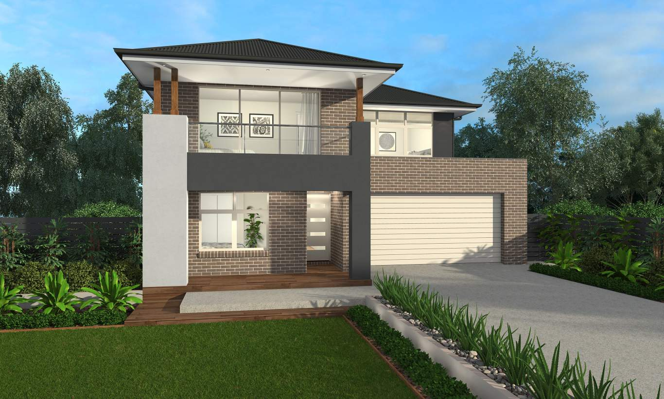 Lexington 28 Two Storey House Design Mcdonald Jones Homes