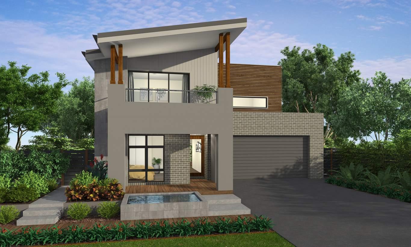 Tribeca - Two Storey Home Design Mcdonald Jones Homes