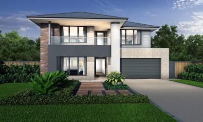 Two Storey Double Level Home Designs Mcdonald Jones Homes