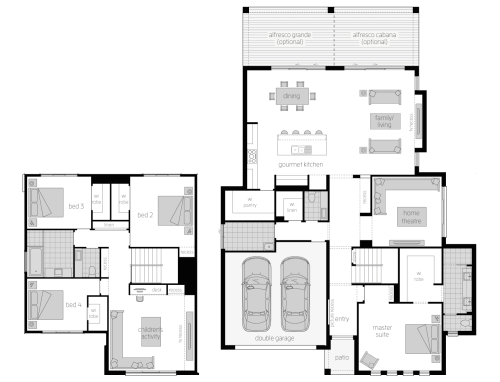 small resolution of floor plan avondale 38 two storey home mcdonald jones