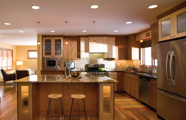 Custom contemporary kitchen remodel