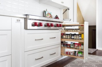 Spice rack drawer