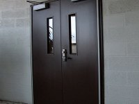 Commercial Steel Entry Door Jamb Repair