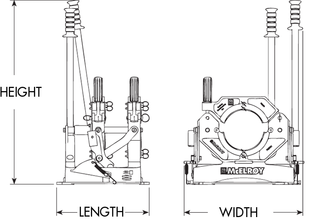 McElroy Pit Bull® 26 Fusion Machine