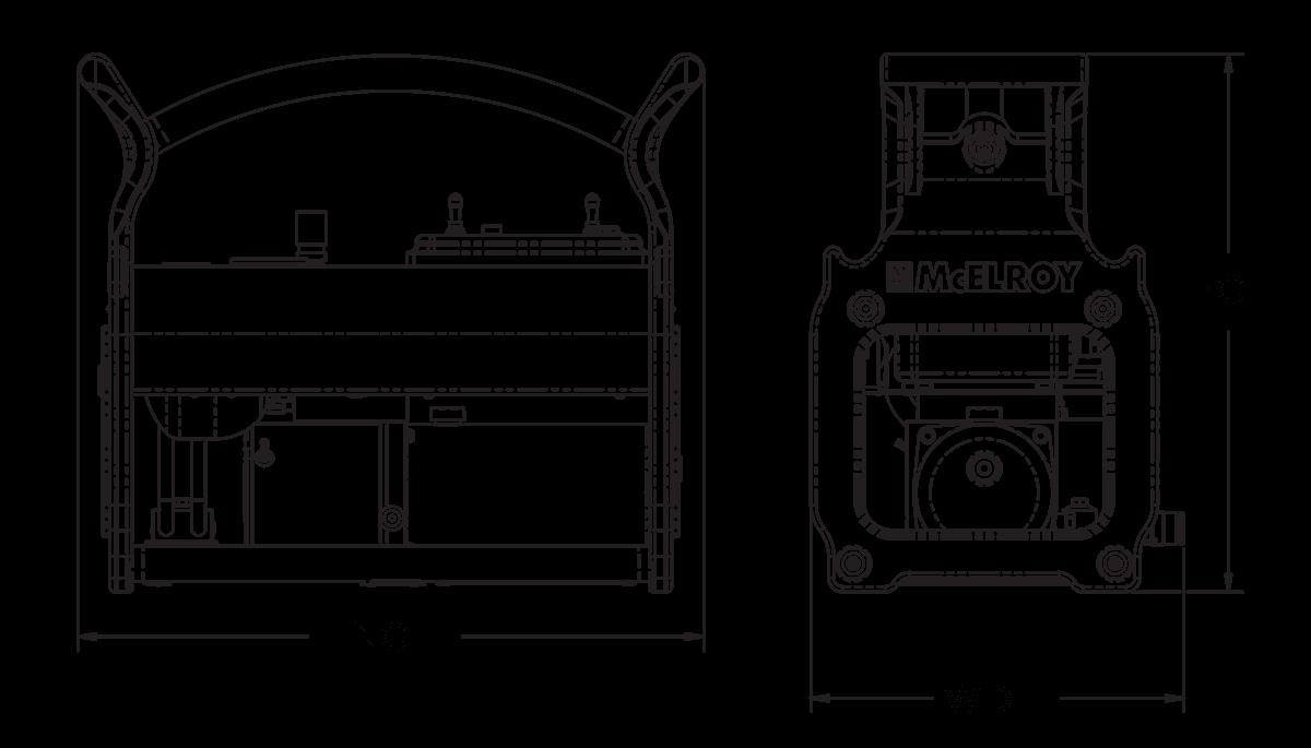 McElroy Acrobat™ 180 Fusion Machine