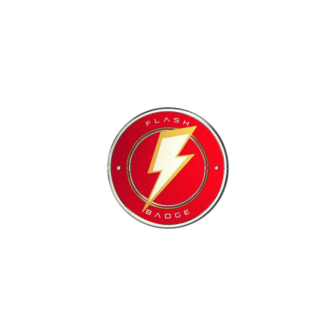 Flash Badge Mces Italia Academy Shop