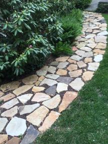 Hardscaping Stone Pathways Lattices Retaining Walls