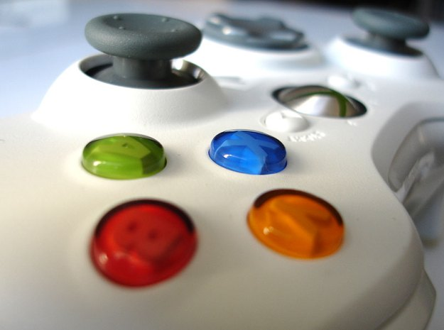 Xbox 360 buttons