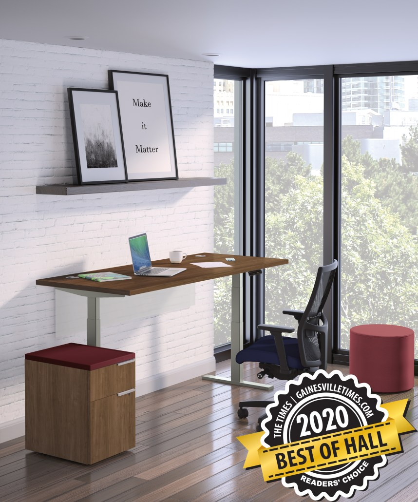 Voted Best of Hall '20 for Office Furniture & Design