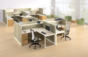 HON Accelerate Office Furniture Workstations