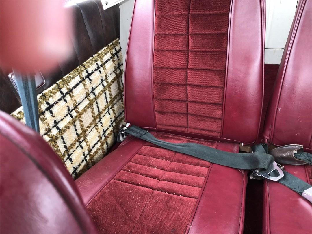 1973 PIPER ARROW II rear seats right side
