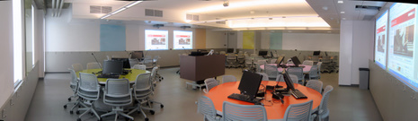 Education 627 - One of McGill's first Active Learning Classrooms