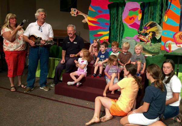 Another glimpse of VBS with the preschoolers