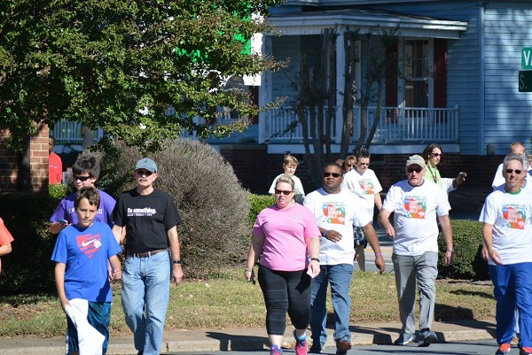 McGill had another good group at the Cabarrus County CROP Walk to fight hunger.