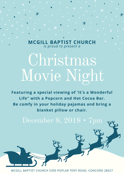 Christmas Movie Flyer