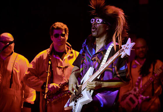 Randy Villars with Bootsy Collins